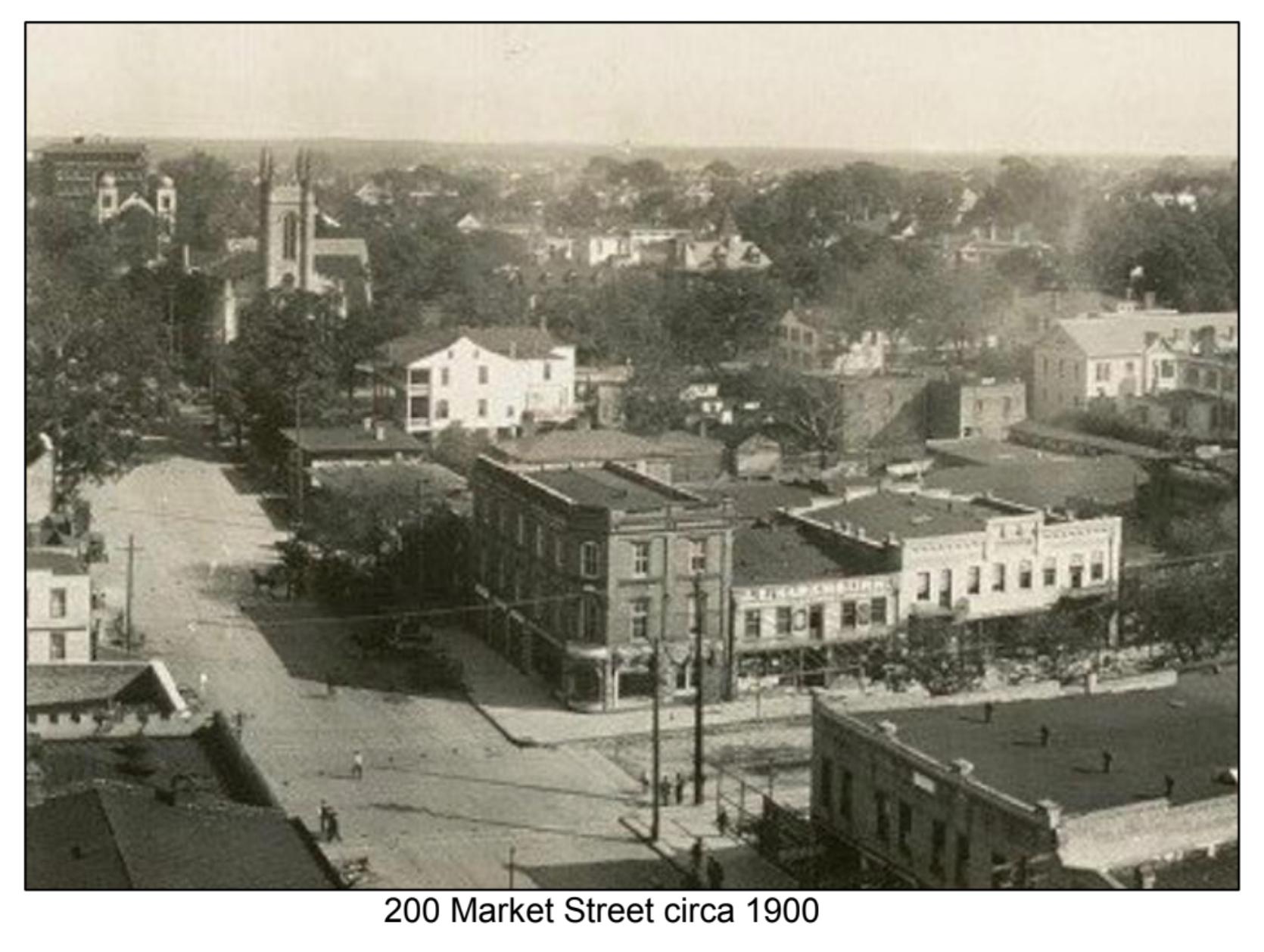 200 Market Street circa 1900