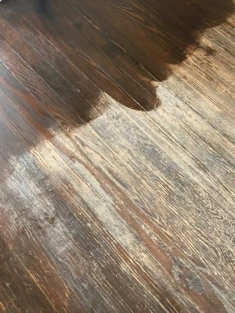 610 Dock Street - Wood Floors (BEFORE) Floors (BEFORE)