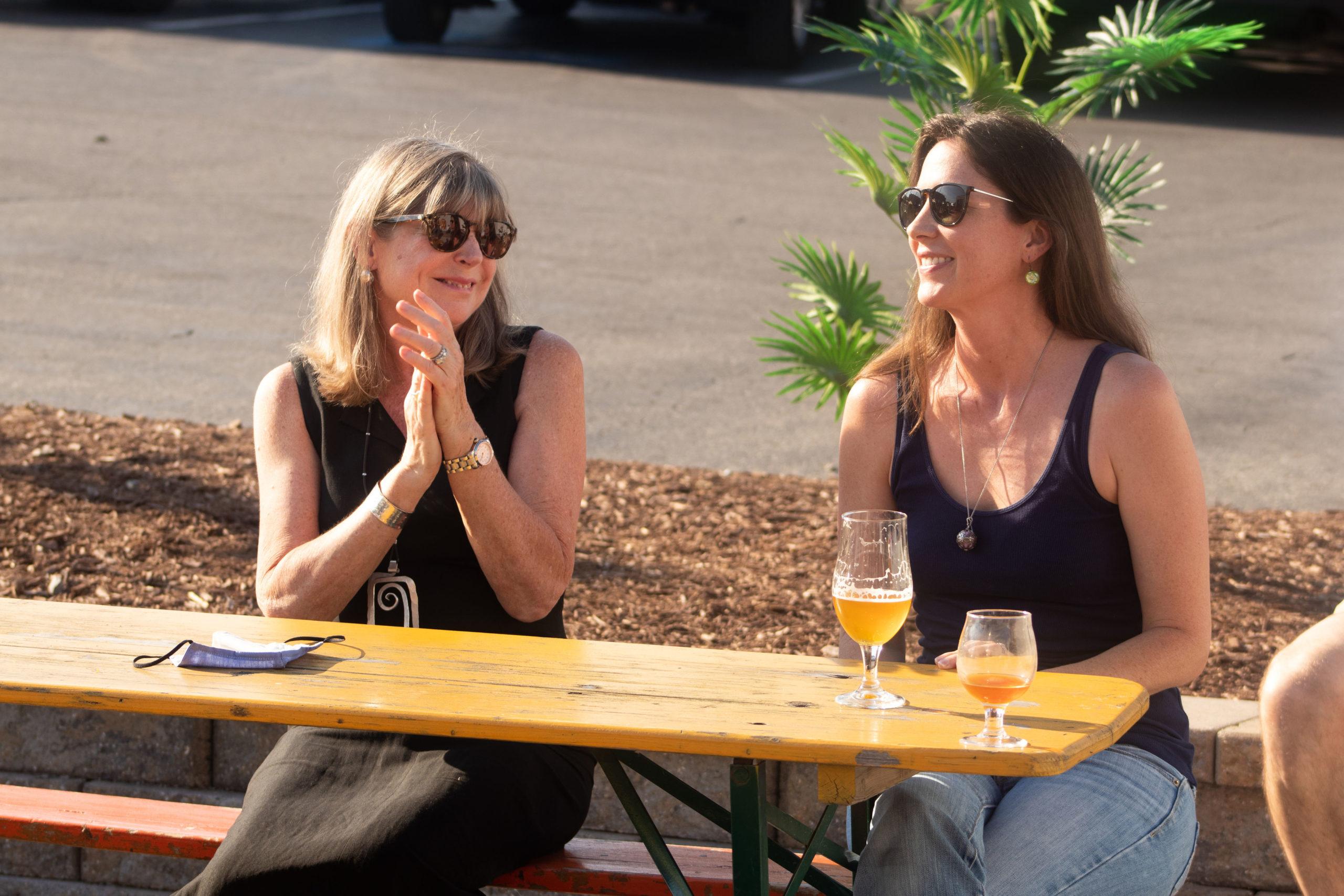 Board Members Sylvia Kochler and Elizabeth Wright