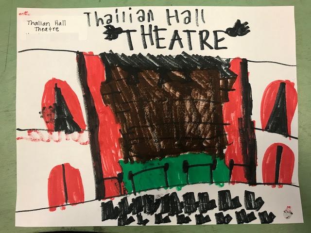 Student Drawing: Thalian Hall